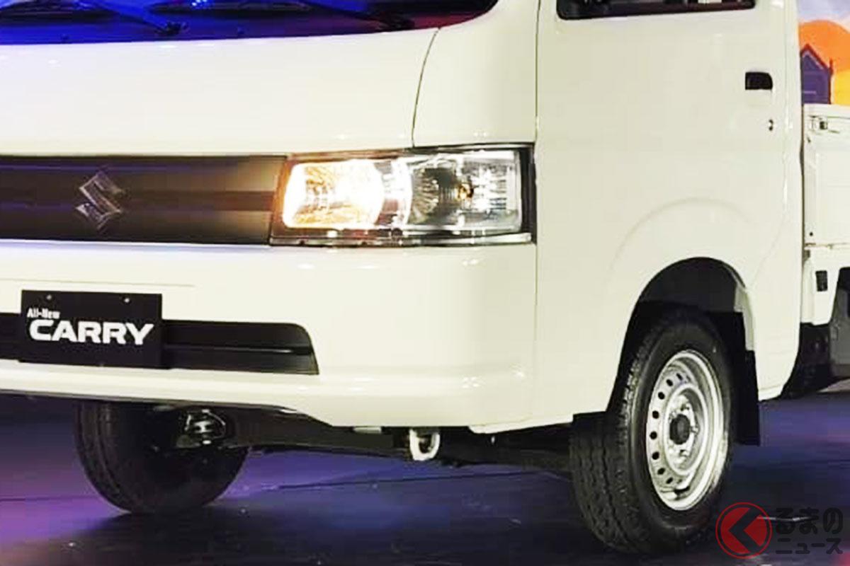 フィリピン仕様のスズキ「キャリイ」(写真は2019年の発表時)