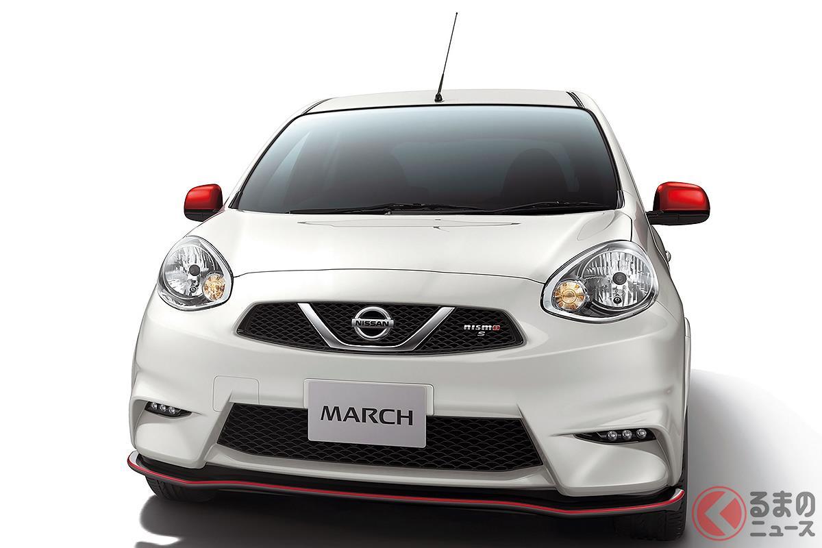 日産車では唯一のホットハッチとなってしまった「マーチ NISMO S」