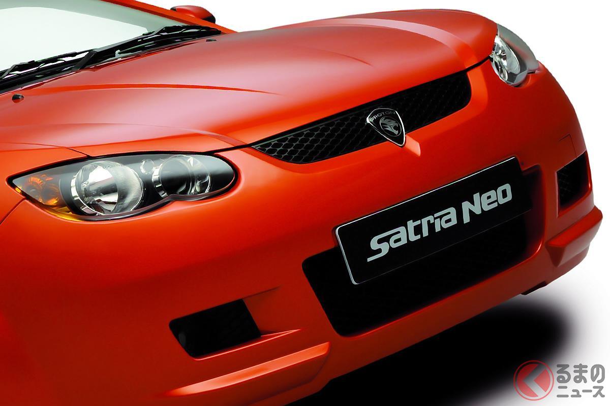 モータースポーツベース車として日本でも販売された「サトリアネオ」
