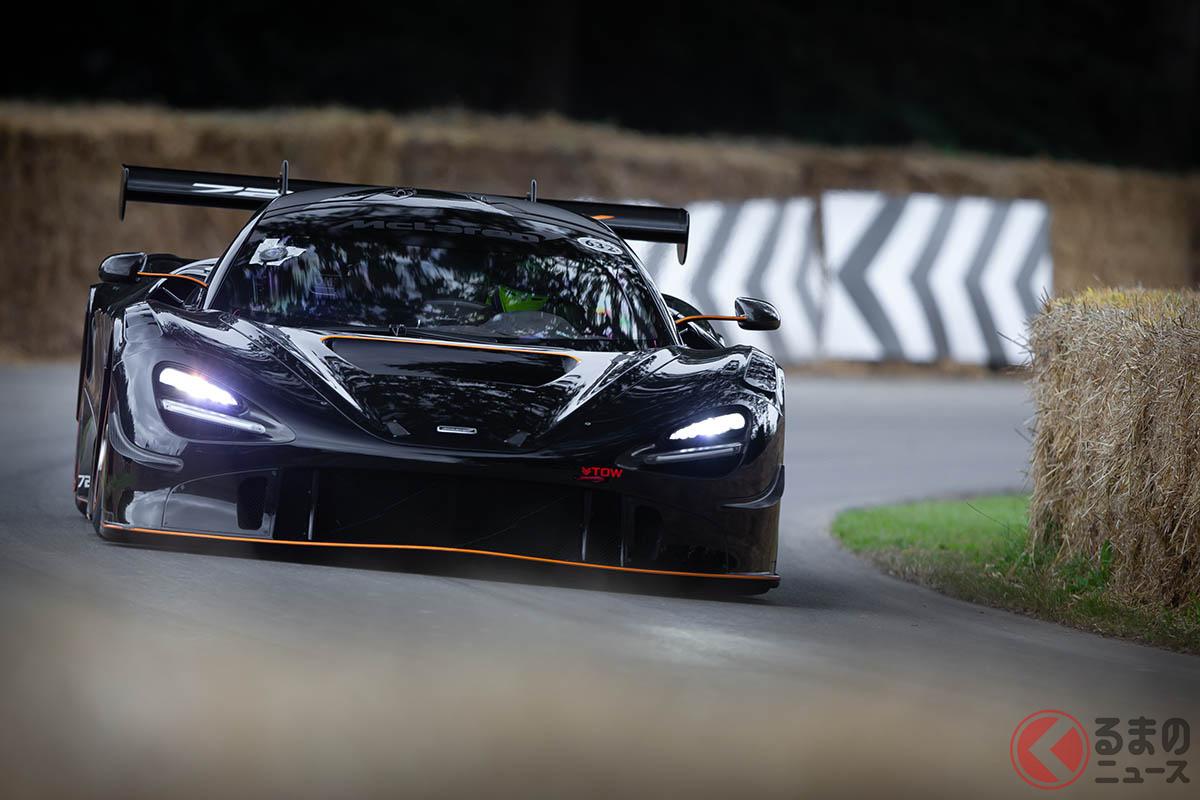 グッドウッド・フェスティバル・オブ・スピードで勝利を収めたマクラーレン「720S GT3X」
