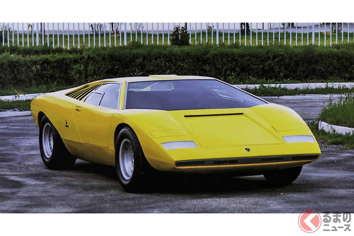 コンセプトカーとして1971年にデビューした「LP500」