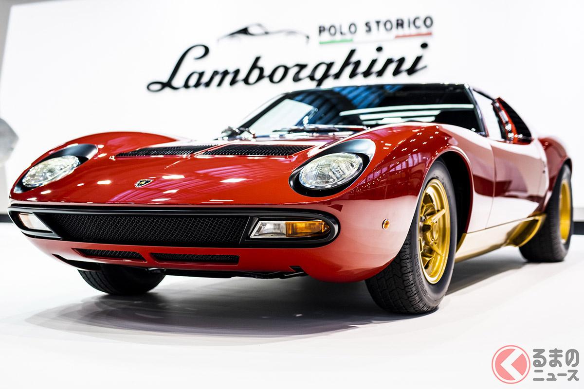 ランボルギーニのV12といえば、元祖スーパーカーの「ミウラ」だ