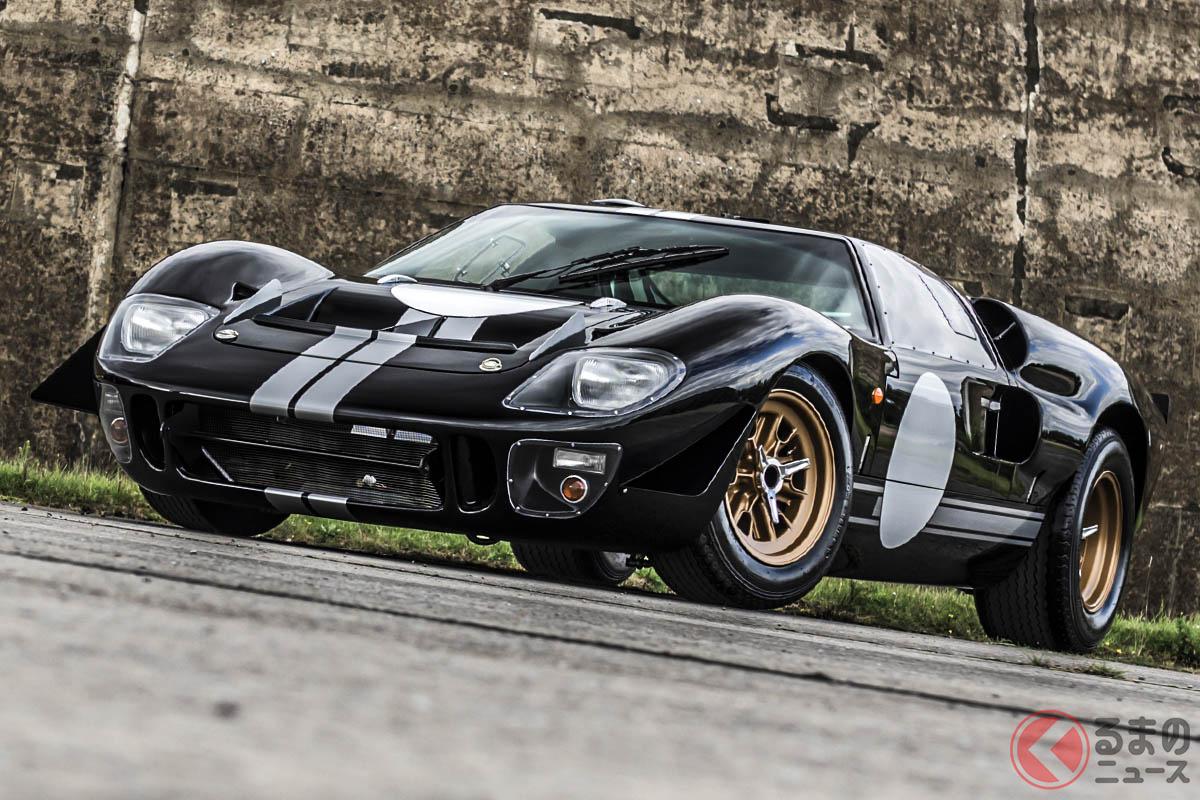 レースで活躍した往年の名車、フォード「GT40」がEVで蘇る