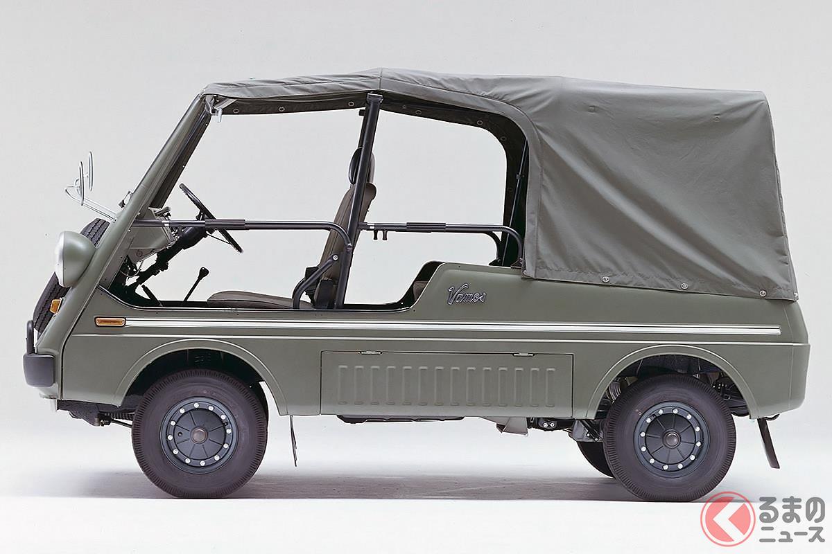 まるで軍用車のような見た目だった希代の迷車「バモスホンダ」