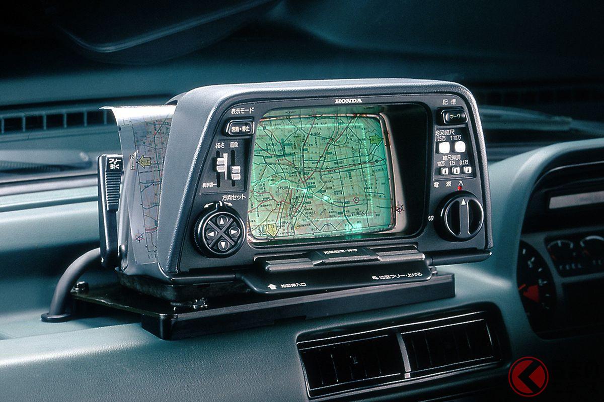 今から40年前の1981年、ホンダがアコード/ビガーに用意した世界初の地図型カーナビ「ホンダ・エレクトロ・ジャイロケータ」