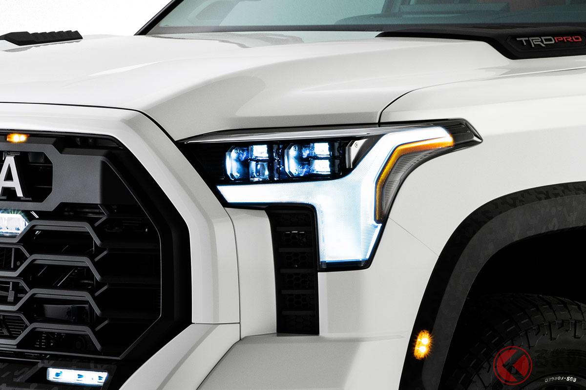 北米トヨタが公開した新型「タンドラ」の画像