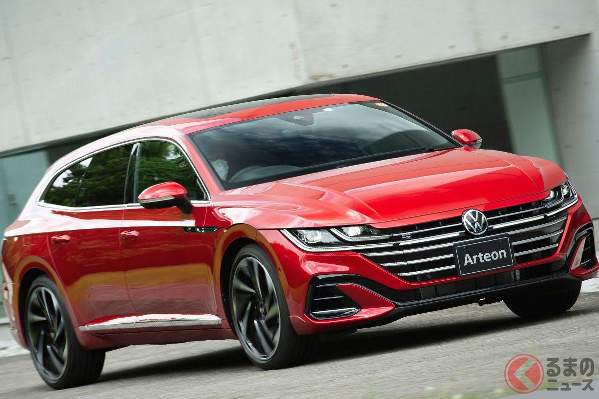 VW新型「アルテオン・シューティングブレーク」の走り