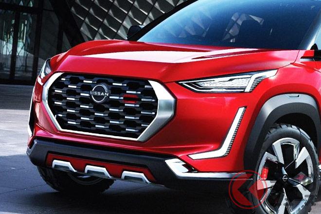 2020年7月16日にインドで発表された新型SUV「マグナイト」