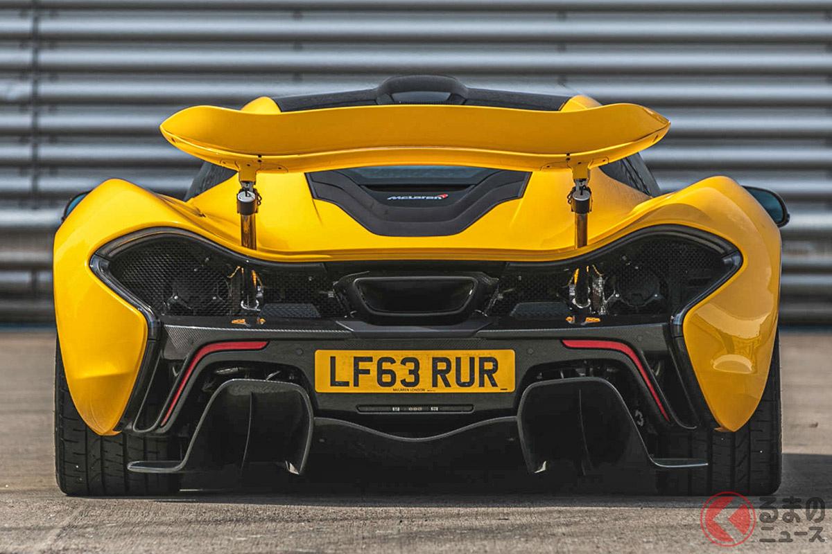 2013年のデビュー当時、1億円を切るプライスで話題になったマクラーレン「P1」(C)Silverstone Auctions Limited 2021