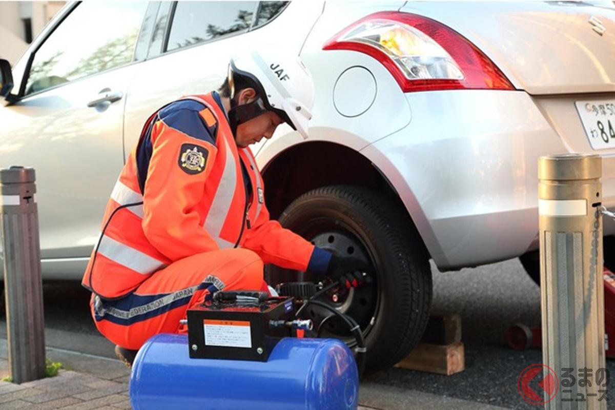 タイヤは定期的にメンテナンスすることで燃費向上やバースト対策になる