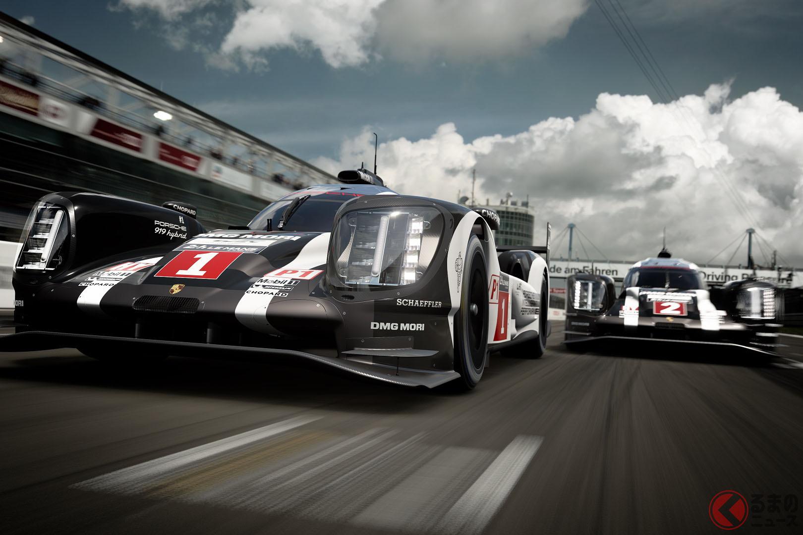 9月19日のRd.2の舞台はサルトサーキット、「919 Hybrid (Porsche Team)'16」で争われるcopyright 2019 Sony Interactive Entertainment Inc. Developed by Polyphony