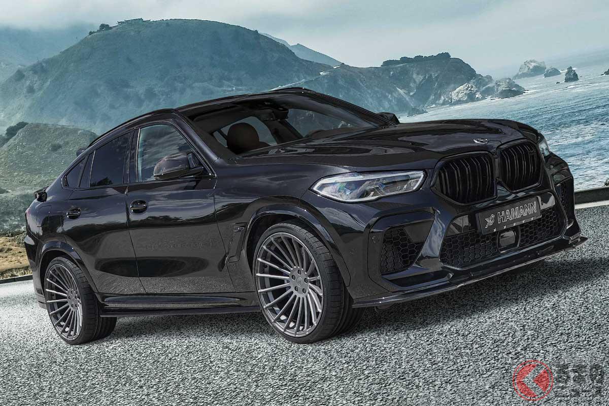 BMW「X6M」のオリジナルデザインを活かしたエアロパーツをリリースしたハーマン