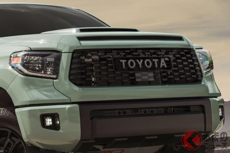 トヨタは今年も多数の新型車をスタンバイしてる。写真は「タンドラ2021年モデル」(北米仕様)