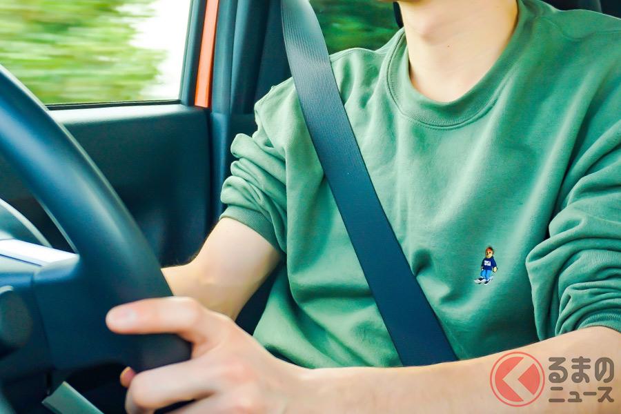 シートベルトの着用は乗車時の基本となる