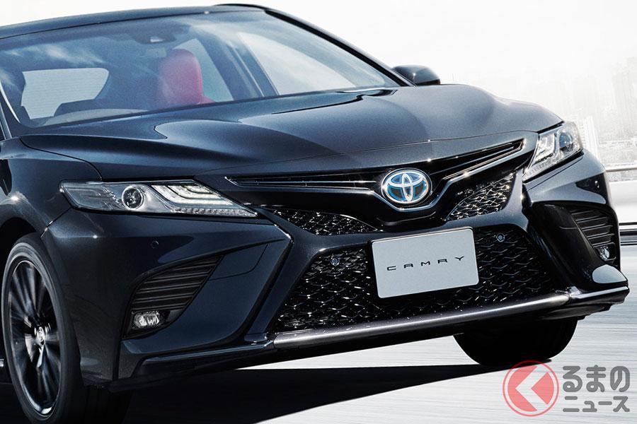 特別仕様車 トヨタ「カムリ WS ブラックエディション」
