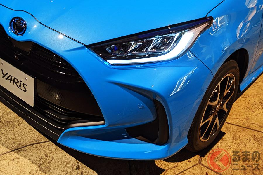 2020年2月に発売されたトヨタ新型「ヤリス」