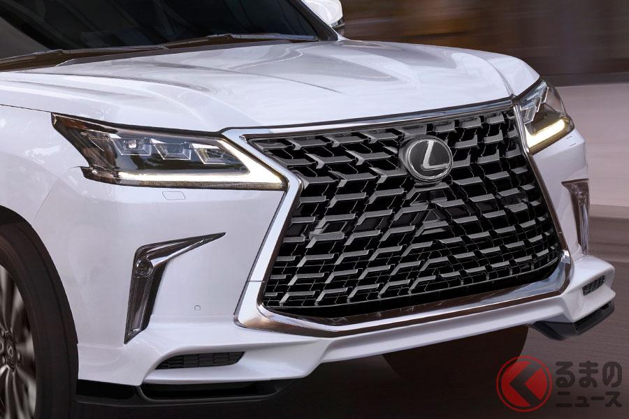 レクサス「LX 2021年モデル スポーツパッケージ」(北米仕様車)