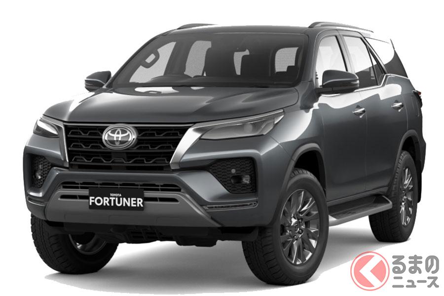 オーストラリアで発売されるトヨタ新型「フォーチュナー」