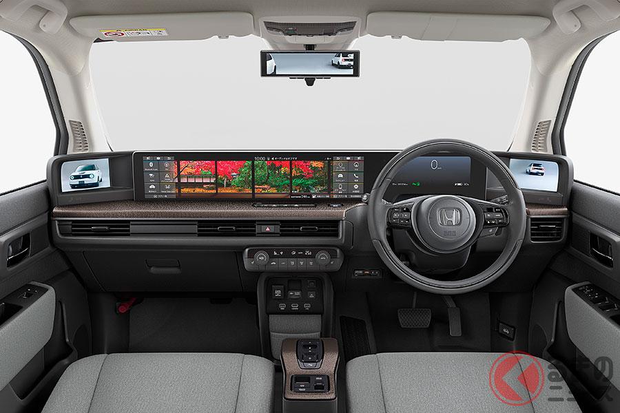 ホンダの新型EV「ホンダe」がスポーティ感アップ! 純正カスタムパーツ発売