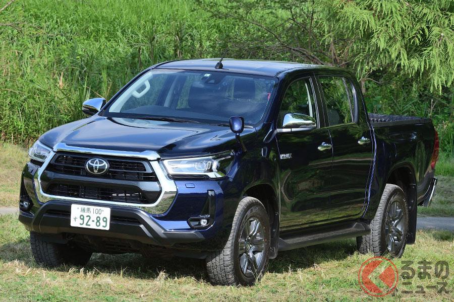 トヨタ新型「ハイラックス」(2020年8月マナーチェンジ)