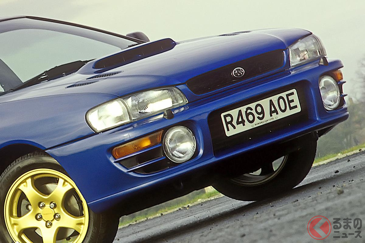 WRCで勝つことを目的に開発された初代「インプレッサ WRX」とは