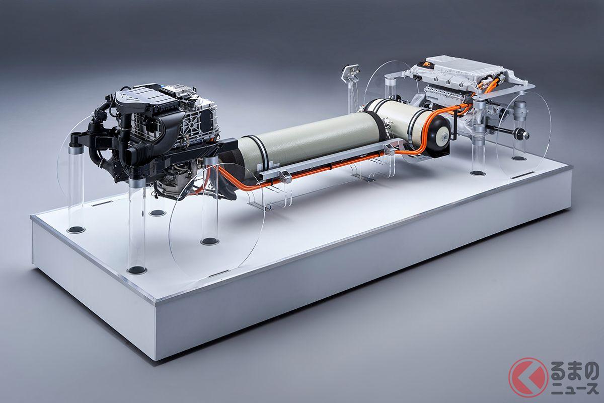 BMW「iX5ハイドロジェン」のパワートレイン