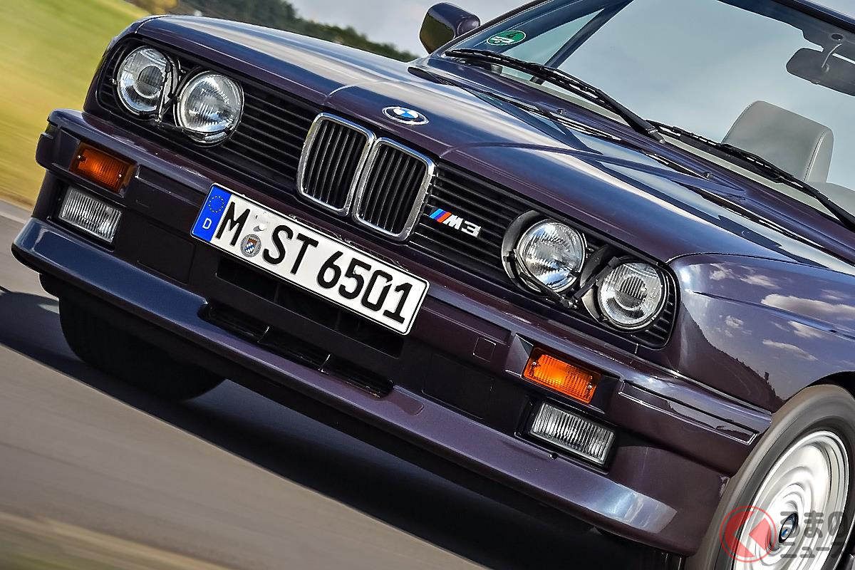 硬派なレーサーイメージに華やかさをプラスした「M3 カブリオレ」