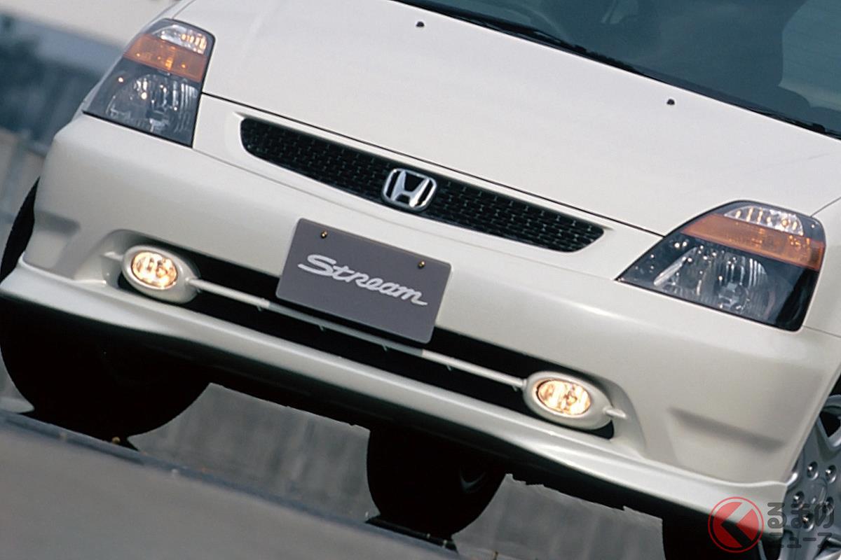 ミニバンでもセダンに匹敵するドライビングプレジャーを追求した初代「ストリーム」