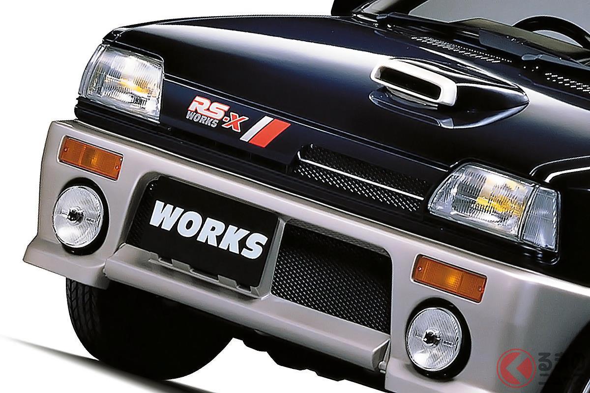 軽自動車における第二次パワー競争に終止符を打った「アルトワークス」