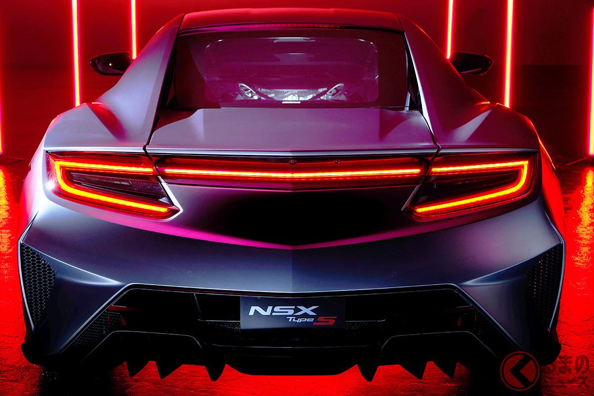 2代目NSX2022年12月で生産終了!最終モデルとして「タイプS」が設定される