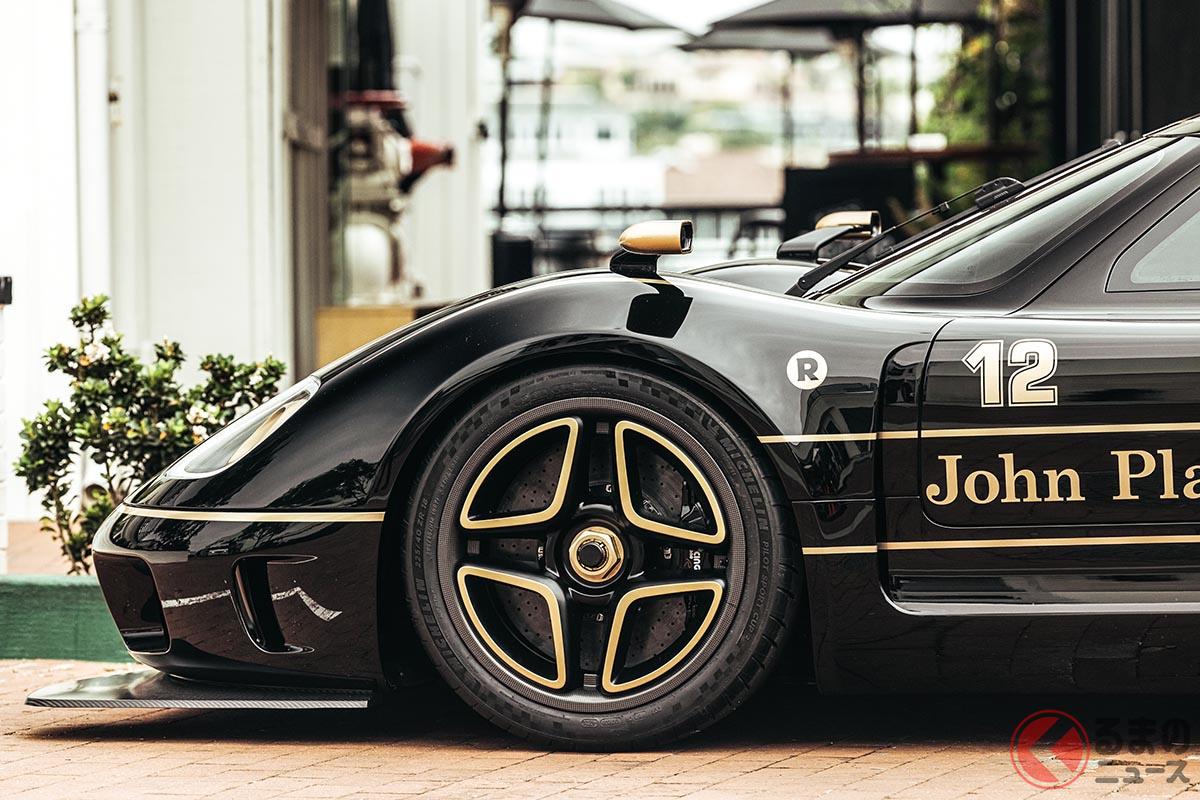 62台生産されるラドフォード「タイプ62-2」のうち、12台がJPS(ジョン・プレーヤー・スペシャル)のカラーリングをまとう