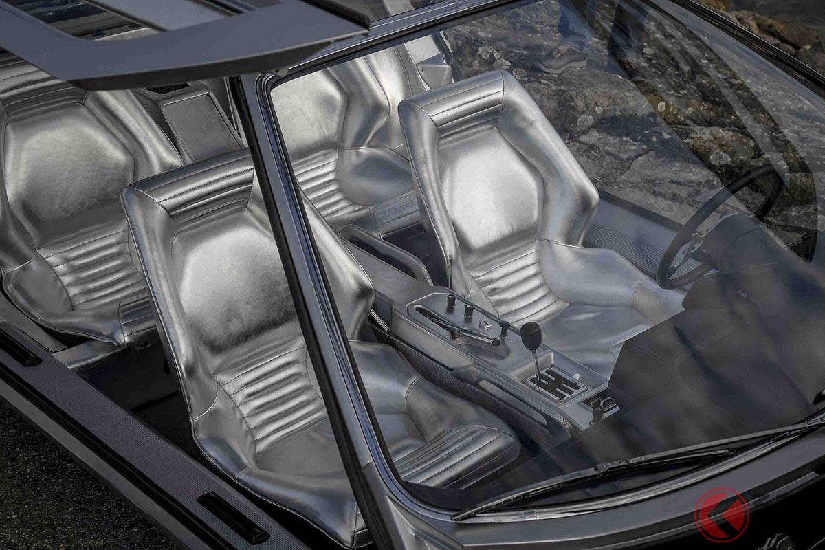 内装がよく見えるように「マルツァル」の外皮はガラス面が多くなっている