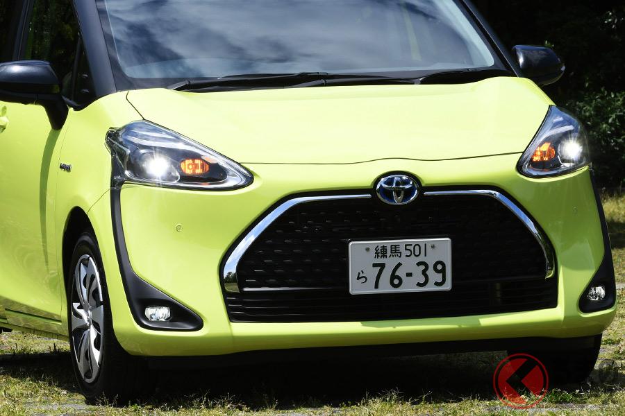 現行モデルは2015年に発売されたトヨタ「シエンタ」