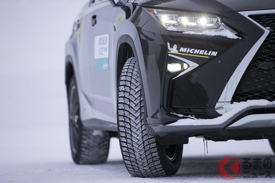 ミシュランの最新スタッドレスタイヤ「エックスアイス・スノー」