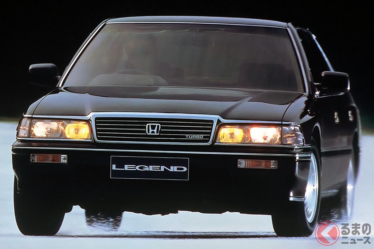 もともとスポーティなモデルながら画期的なターボエンジンを搭載した「レジェンド V6Ti」