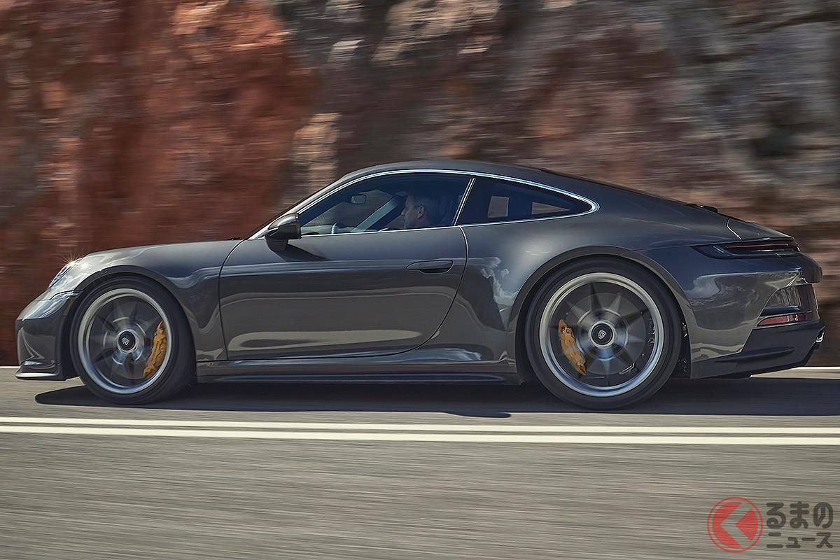 高性能ながら派手さを抑えてクールな印象の「911 GT3 with ツーリングパッケージ」