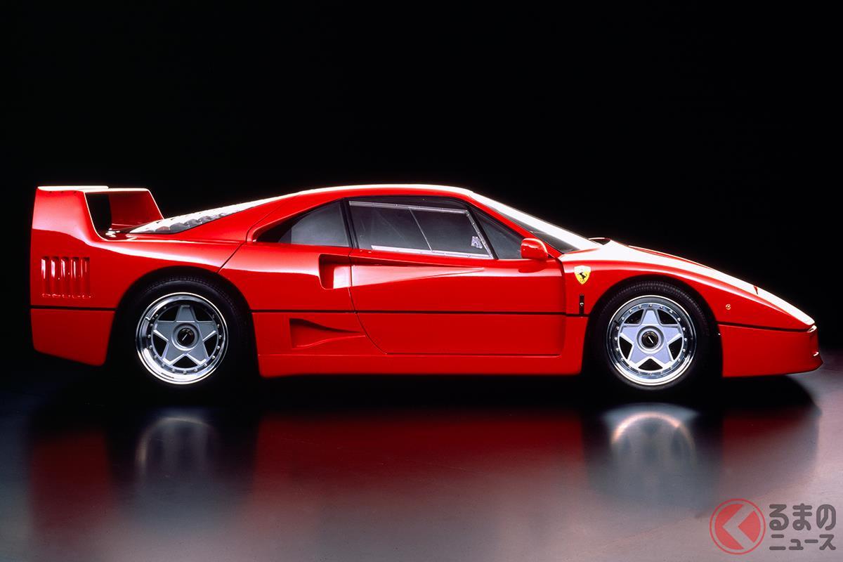 公道を走れるレーシングカーとして開発された超ストイックなマシン「F40」