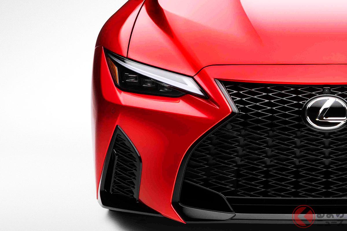 レクサス新型「IS500 Fスポーツ パフォーマンス」