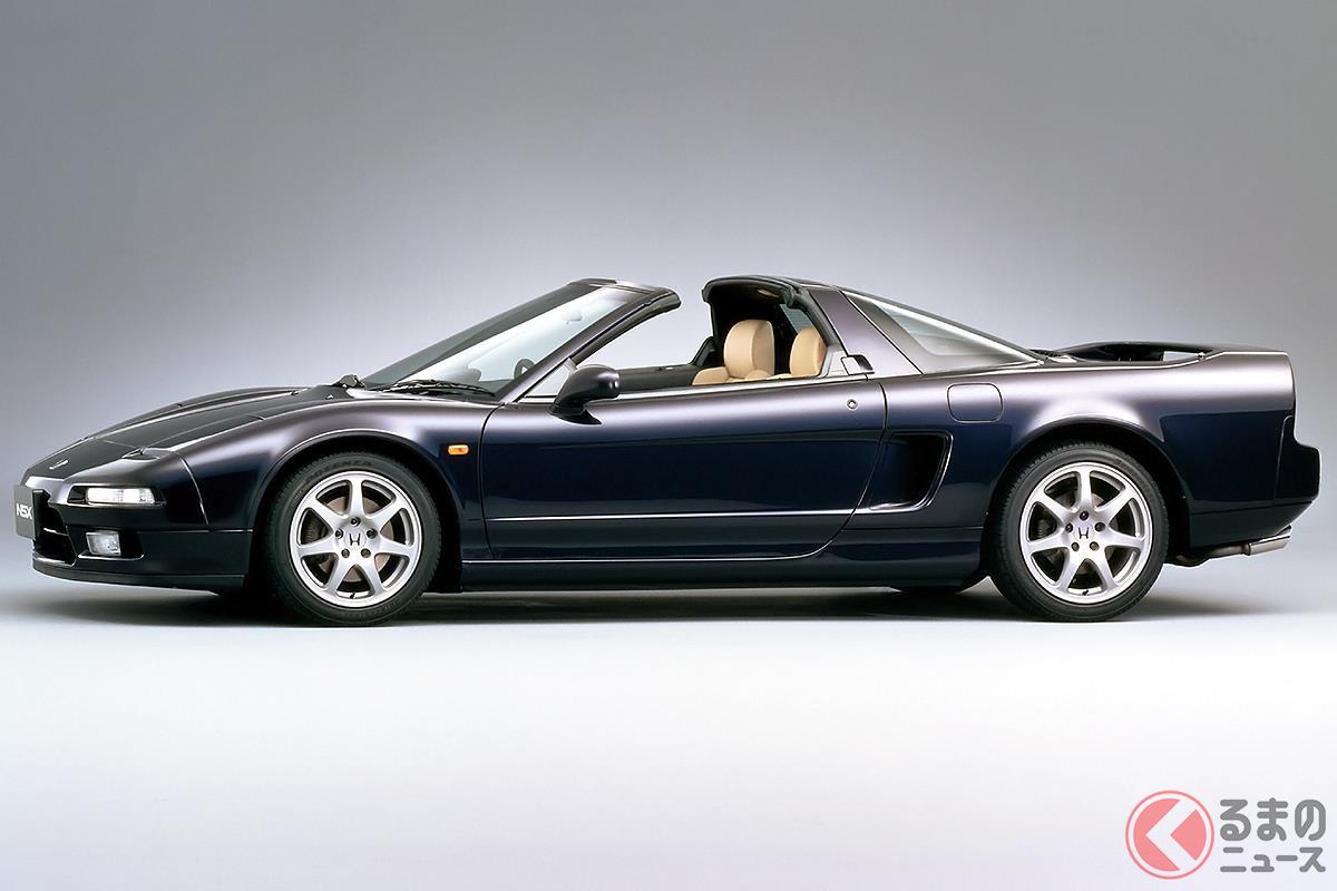 高性能車のなかでも華やかなスタイリングが特徴の「NSX タイプT」
