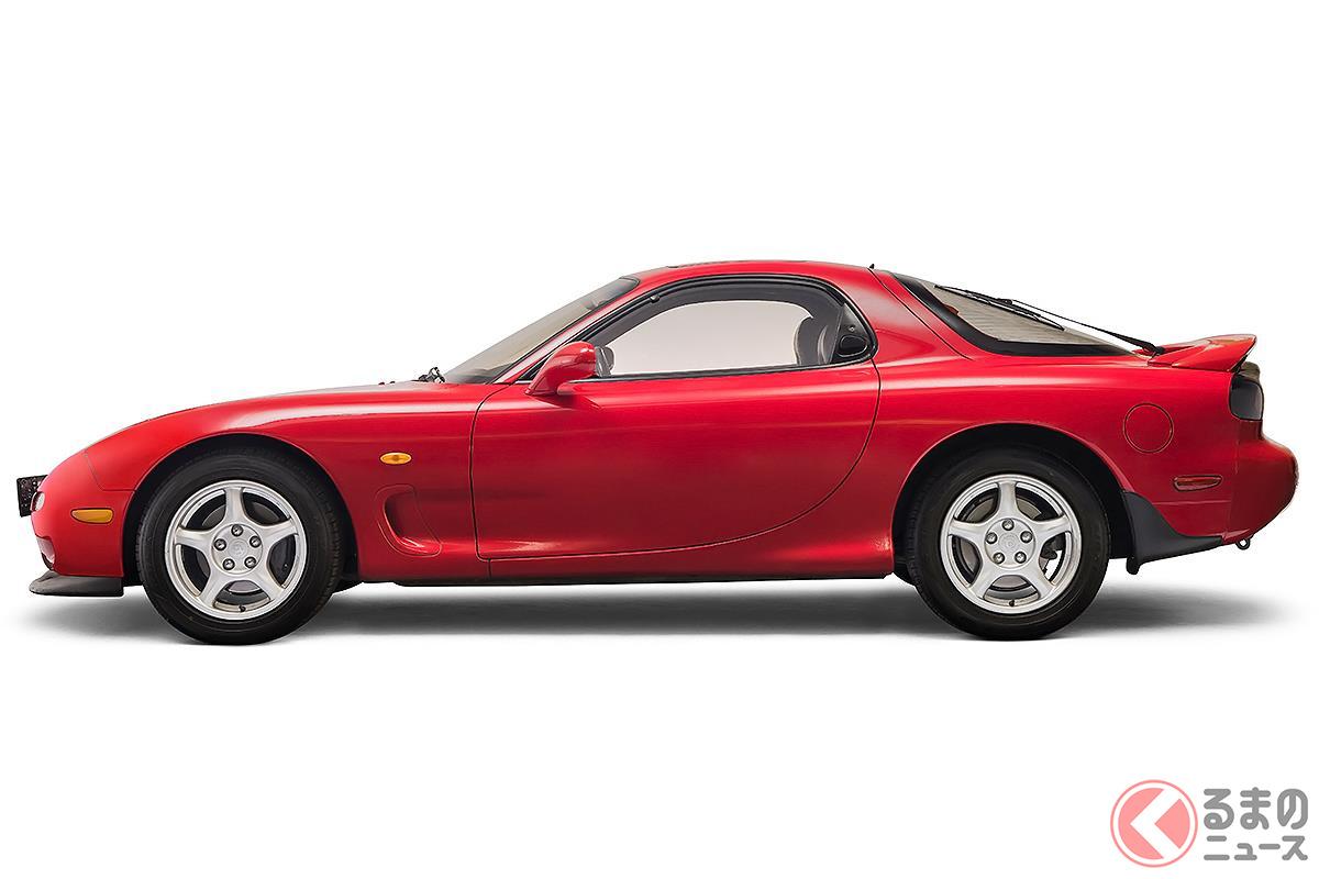 高性能なロータリーエンジンを搭載した最後のピュアスポーツカー「RX-7」