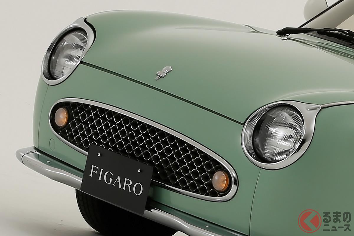 パイクカー3兄弟のなかでも唯一のクーペフォルムを採用した「フィガロ」