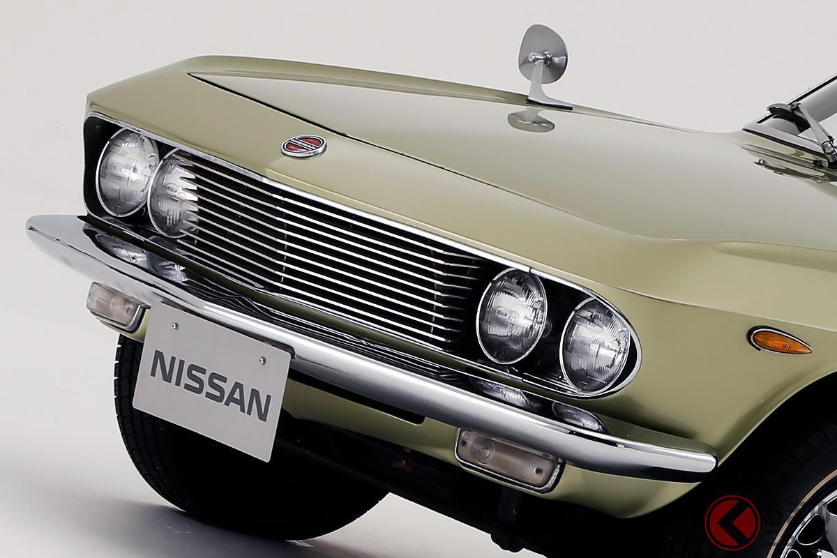 1960年代に誕生! 日本車離れしたデザインの国産車たち