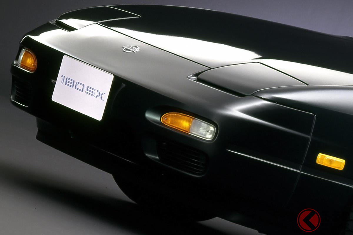 「シルビア」よりも硬派なイメージのFRスポーツカー「180SX」