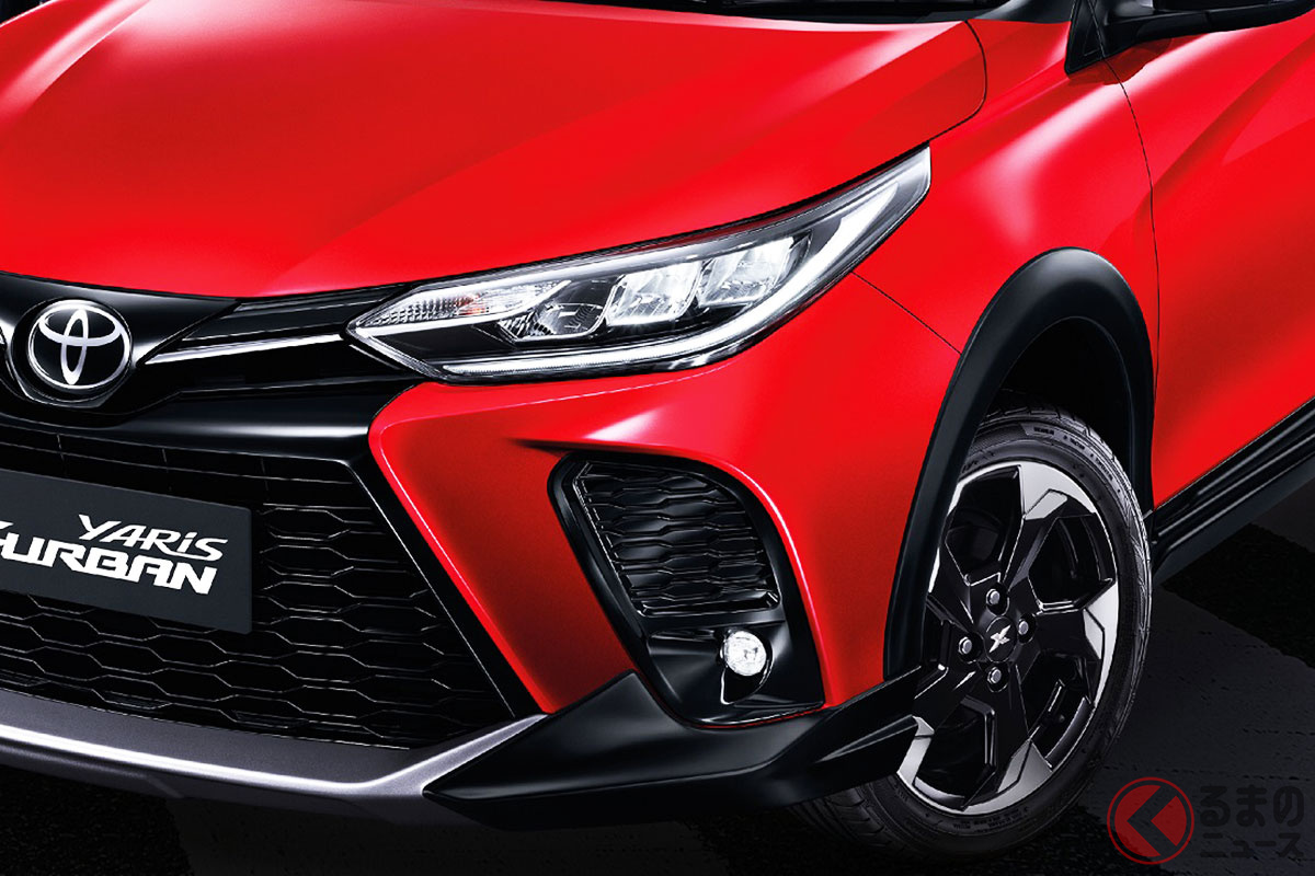 タイで発表されたトヨタ「ヤリス Xアーバン」