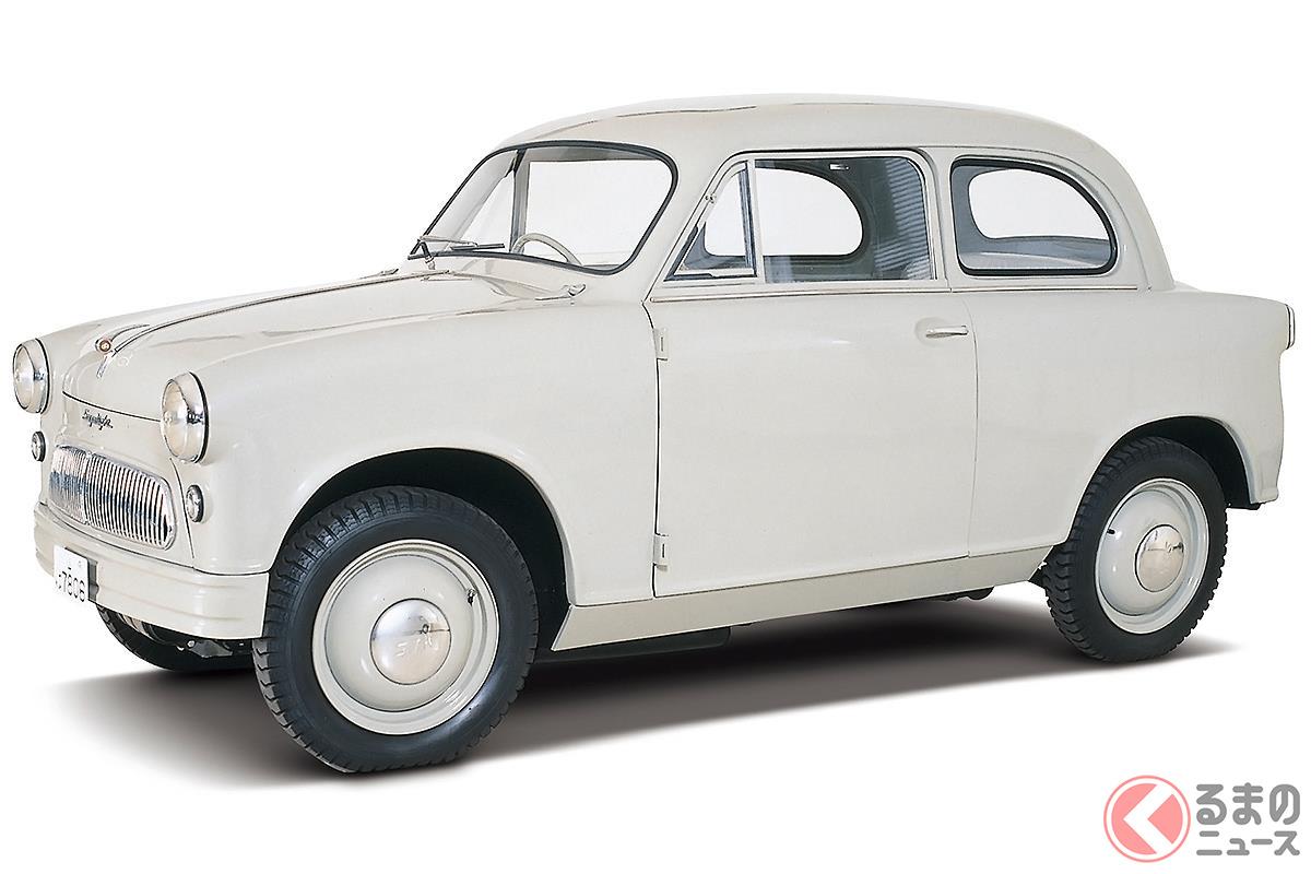 現在の軽自動車の原点といえるモデルだった「スズライトSS」