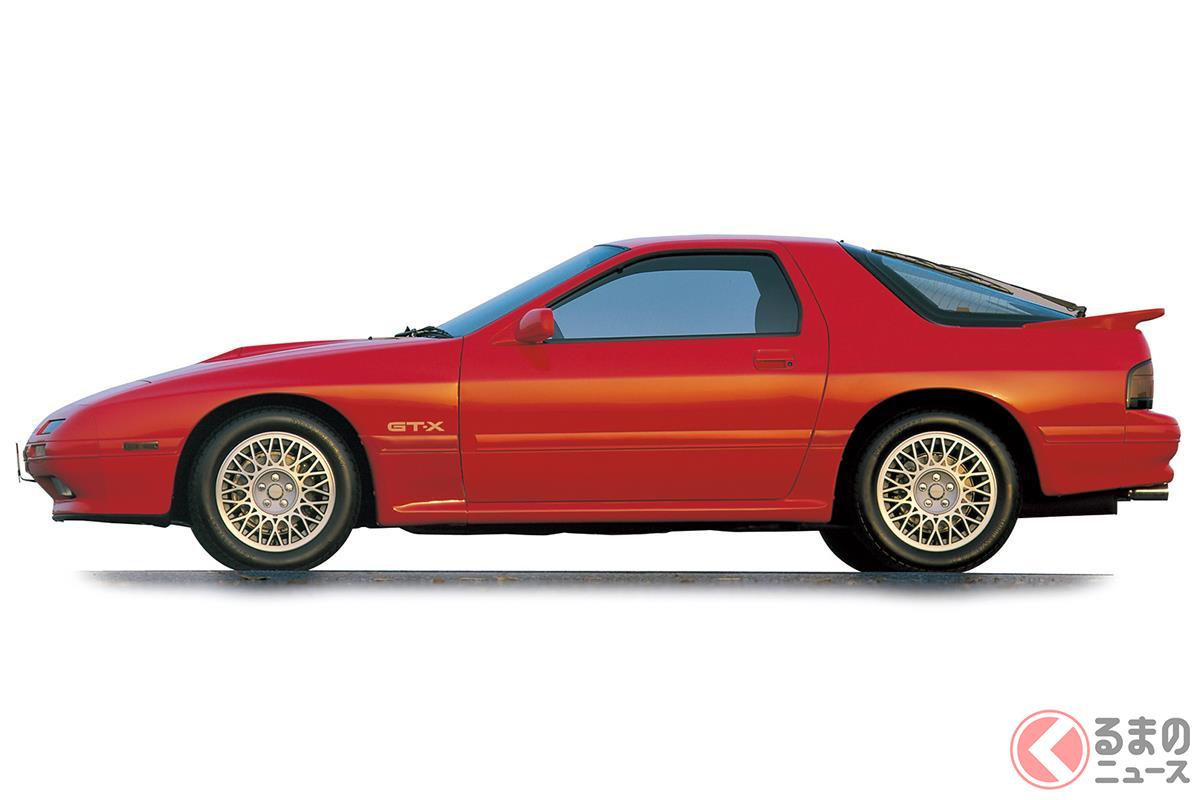 先代からすべてを一新し、スポーツカーとして大きく進化した「FC3S型 サバンナ RX-7」