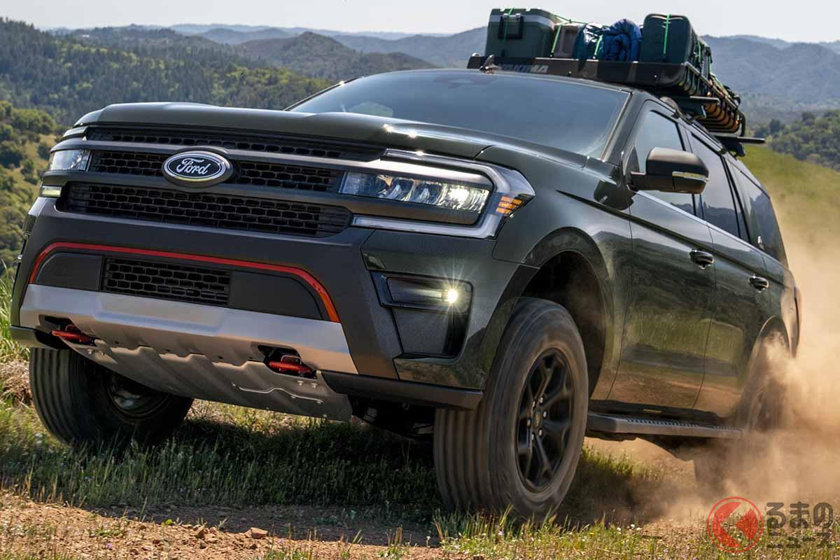 フォード新型「エクスペディション」ティンバーライン