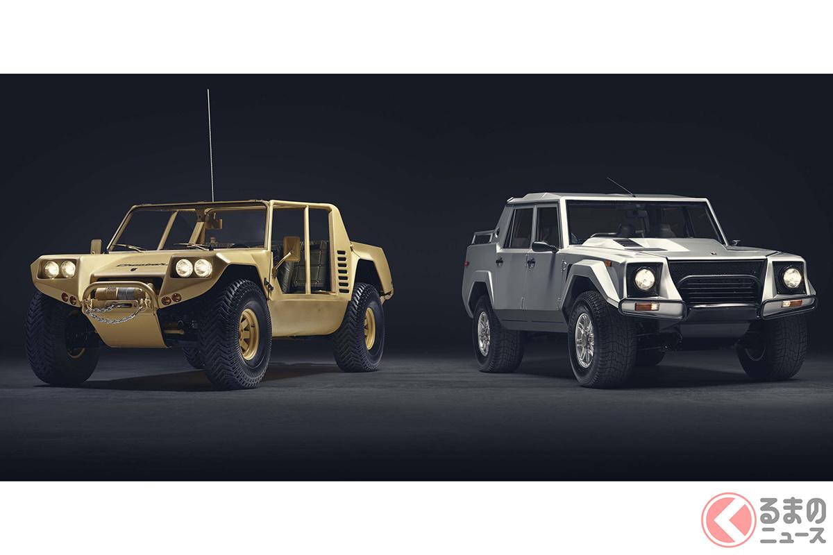 「チータ」(左)とよく似ている「LM002」だが、シャシやエンジンの搭載位置など、まったくの別物である