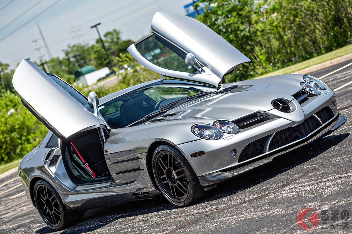 150台限定、新車当時の車両価格は6300万円ほどであったメルセデス・ベンツ「SLRマクラーレン722エディション」(C)2021 Courtesy of RM Sotheby's