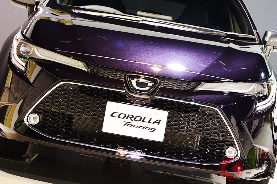 2019年9月に12代目へとフルモデルチェンジしたトヨタ「カローラツーリング」